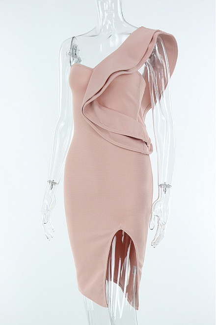 CLAIR EVENING DRESS IN PINK