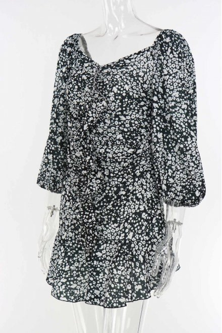 EMELY DITSY FLORAL DRESS